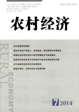 农村经济杂志封面
