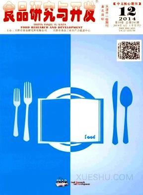 食品研究与开